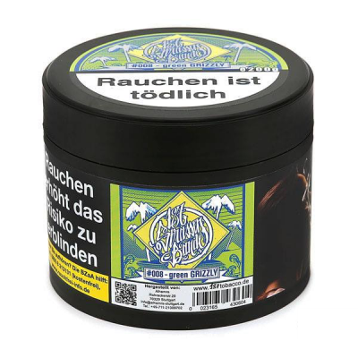 187 Tobacco - #008 - green GRIZZLY - 200g
